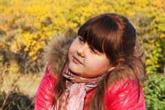 En stående av den teen flickan Fotografering för Bildbyråer