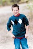 Stående av den unga pojken Royaltyfria Bilder