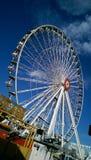 En stad Ferris i Prator Royaltyfri Fotografi