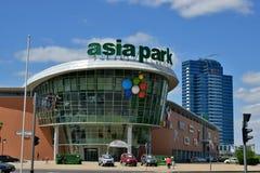 En stadssikt av Astana/Kasakhstan royaltyfria foton