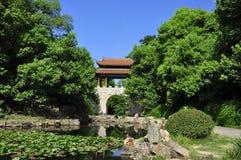 En stadsträdgård i Zhuhzhou Fotografering för Bildbyråer