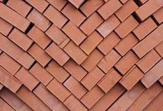 En stapel av kilntegelstenar Royaltyfri Foto