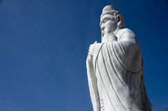 Staty av Confucius Arkivfoton