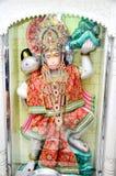 En staty av den hinduiska guden Hanuman Royaltyfria Foton