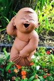 En staty av en barn` s Royaltyfri Fotografi