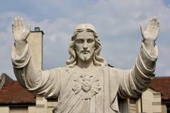 En staty av Jesus Christ Royaltyfri Bild