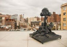 En staty på Whitney Museum Royaltyfri Foto