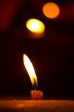 En stearinljus av Katmandu, Nepal Royaltyfria Foton