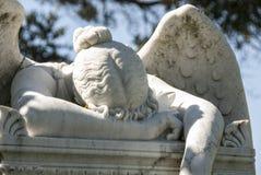 En sten Angel Weeps Royaltyfria Bilder