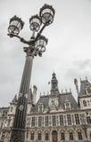 En stilfull lampstolpe Arkivbild