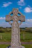 En stilgravsten för celtic kors Fotografering för Bildbyråer