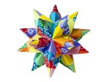 Pappers- stjärna Royaltyfria Bilder