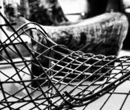 En stol är en stol är en stol Fotografering för Bildbyråer