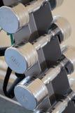 En stolpe med wightdisketterna Fotografering för Bildbyråer