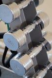 En stolpe med wightdisketterna Royaltyfri Foto