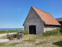 En stonehouse Royaltyfria Foton