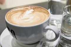 En stor kopp kaffe Royaltyfri Foto