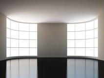 En stor korridor vektor illustrationer