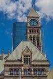 En stor kyrka i Toronto Arkivbilder