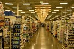 Supermarketlivsmedelsbutik arkivbilder