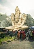En stor Shiva staty Arkivfoton