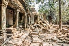 En stor tempel Fotografering för Bildbyråer