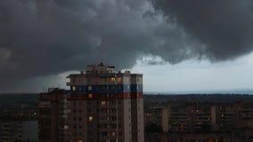 En storm är kommande lager videofilmer