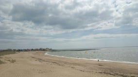En strand Arkivfoto