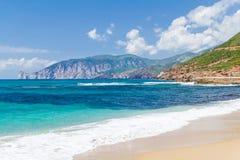 En stranden Royaltyfria Foton