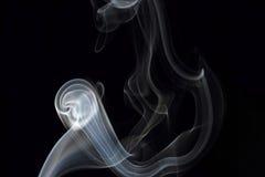 En suddig rörelse för rök Fotografering för Bildbyråer