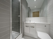 En-suite bathroom Royalty Free Stock Images