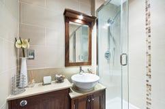 En-suite bathroom Stock Photos