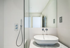 En suite bathroom detail Stock Image