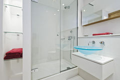 En-suite luxueuse Photos libres de droits