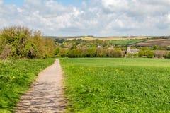En Sussex bykyrka Arkivfoto