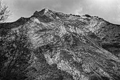 En svart- & vitdrama Fotografering för Bildbyråer