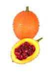 En sydostlig asiatisk frukt, vet gemensamt som Gac royaltyfria foton