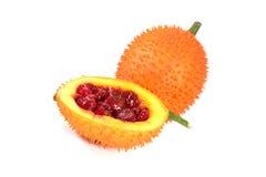 En sydostlig asiatisk frukt, vet gemensamt som Gac royaltyfria bilder