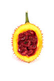 En sydostlig asiatisk frukt, vet gemensamt som Gac fotografering för bildbyråer