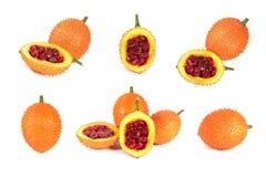 En sydostlig asiatisk frukt, vet gemensamt som Gac royaltyfri foto
