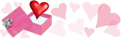 En-tête d'amour illustration de vecteur