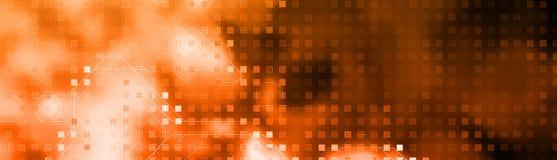 En-tête de Web de technologie Image libre de droits