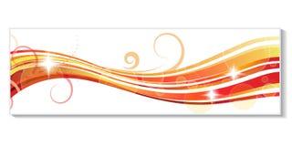 En-tête de Web - ENV 10 Image stock