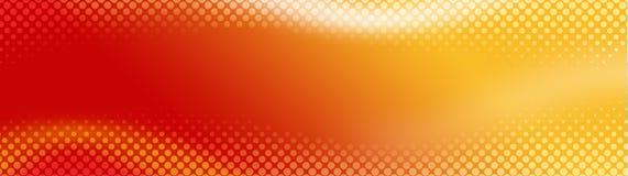 En-tête/drapeau abstraits de Web