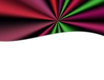 En-tête multicolore de rideau en rétros rideaux Images libres de droits