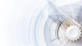 En-tête numérique abstrait de site Web Fond de drapeau Photographie stock
