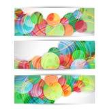 En-tête ou bannière abstrait de site Web Image stock