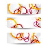 En-tête ou bannière abstrait de site Web Vecteur Photo stock