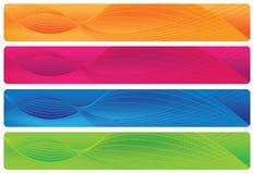 En-têtes/drapeaux - Brights Photographie stock