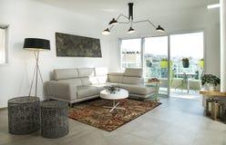 En takvåning för modern design Royaltyfria Bilder